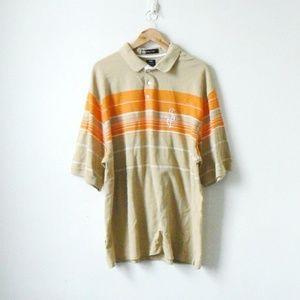 Vintage 90s Sean John Striped Polo Shirt